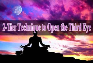 2-Tier Technique to Open the Third Eye