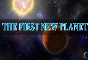 THE FIRST NEW PLANET