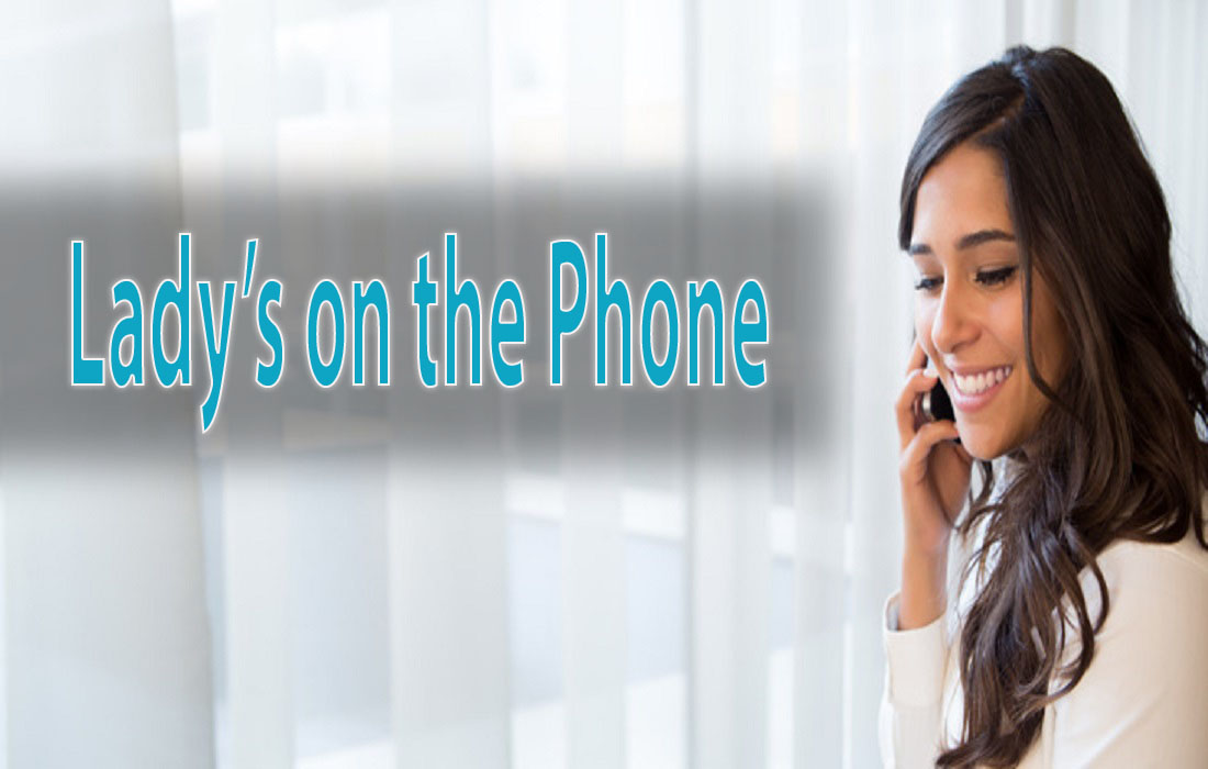 Lady's on the Phone
